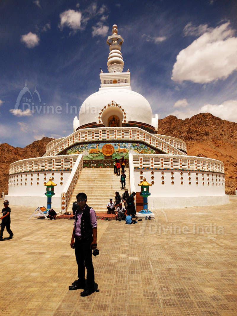 Other View of Shanti Stupa - Buddhist Temples