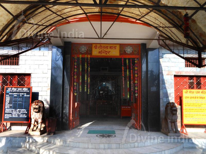 Sheetla Mata Temple at Moksha Dham Temple