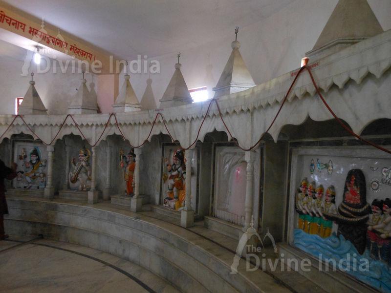 Shiva Sculptures at Moksha Dham Temple