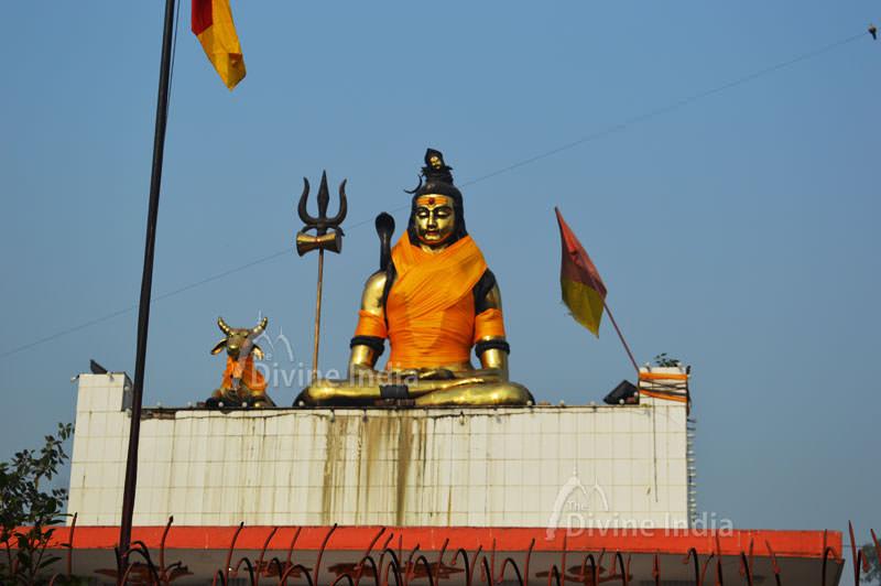 Shivas Bronze Statue at Shiva Shakti Temple