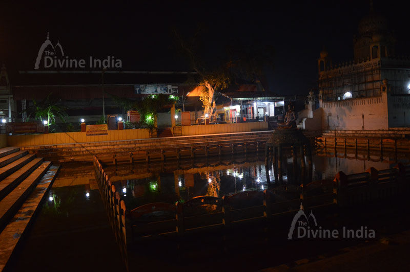 Small pond at Sthaneshwara Temple