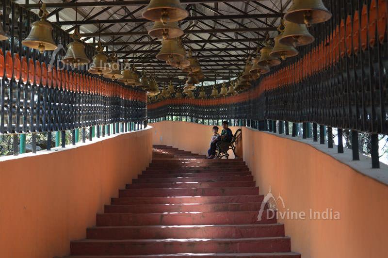 Step way of the dunagiri temple