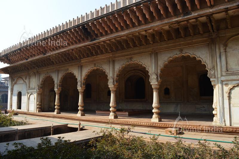 Surja Bhawan at deeg palace