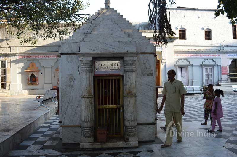 Tara devi temple at kangra devi temple