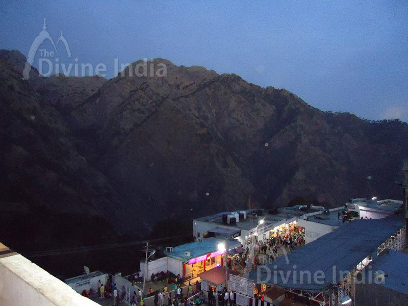 Panoramic View of Ardkuvari - Vaishno Devi