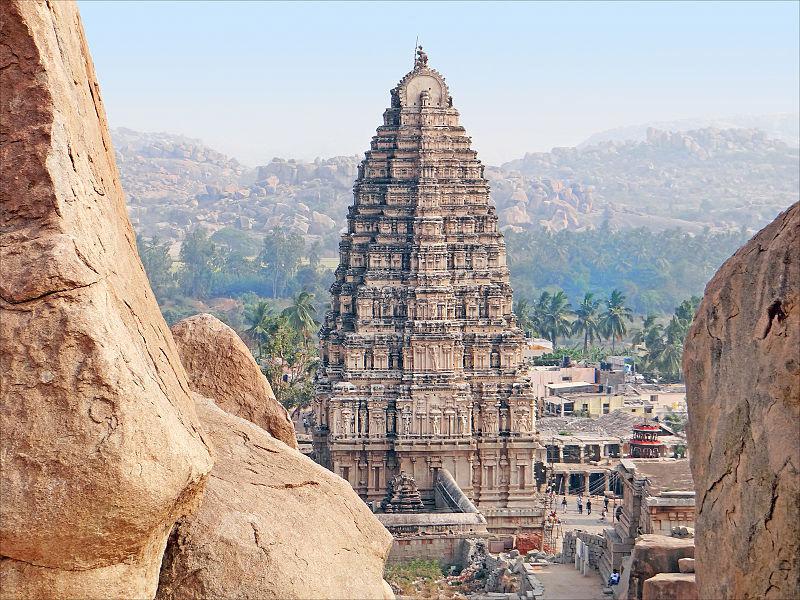 Gopuram of Virupaksha Temple