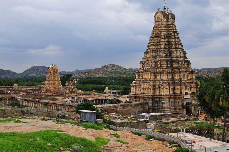 The Virupaksha or the Pampapathi temple