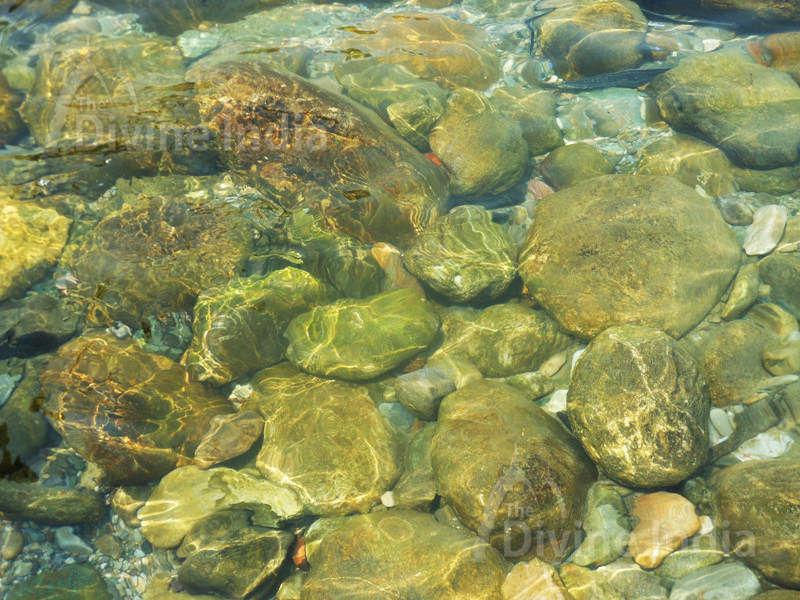 Clean Water of Kois River at Girija Devi Temple