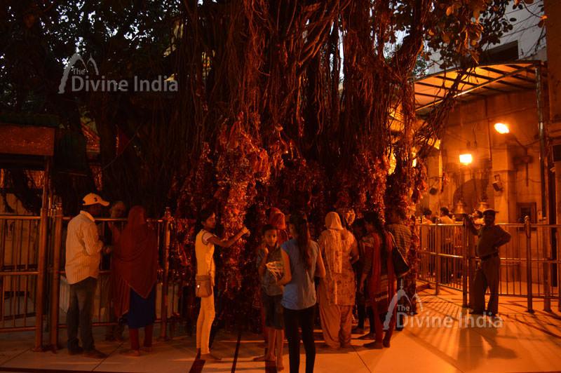 Wish point at chintpurni temple