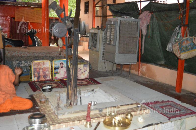 Yag Shala at Shri Shani Dev Temple Noida