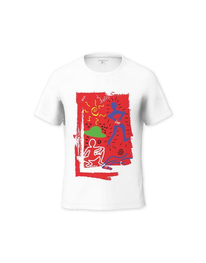 Vilazoi Kid's T-Shirt - Design by Anaelle Moorghen
