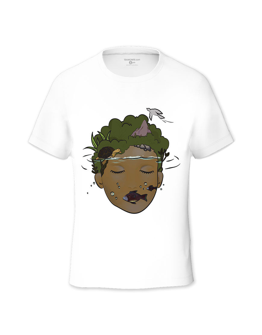 Hidden Island Tween's T-shirt - Design by Vaishnavi