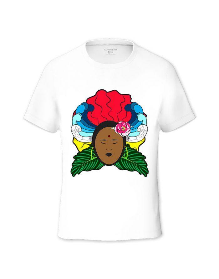 La Morisienne Tween's T-shirt - Design by Sevrine Robinson