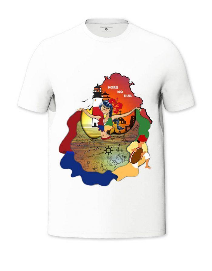 Moris Mo Tizil T-shirt - Design by Yeshika Dodah