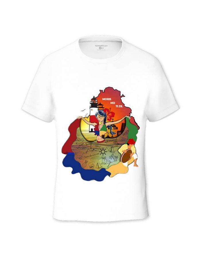 Moris Mo Tizil Tween's T-shirt - Design by Yeshika Dodah