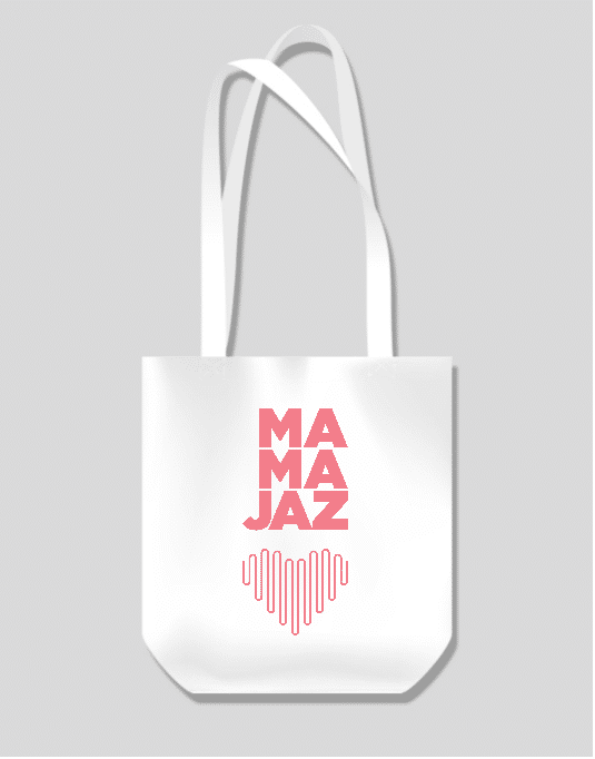 Mama Jaz tote Bag Design