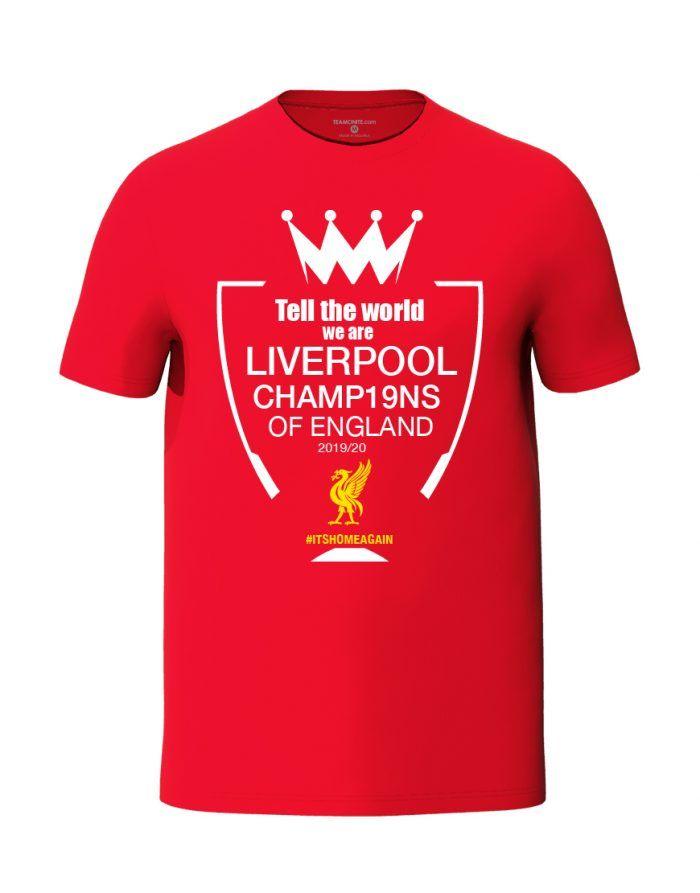 Liverpool champions 2019-2020 t-shirt