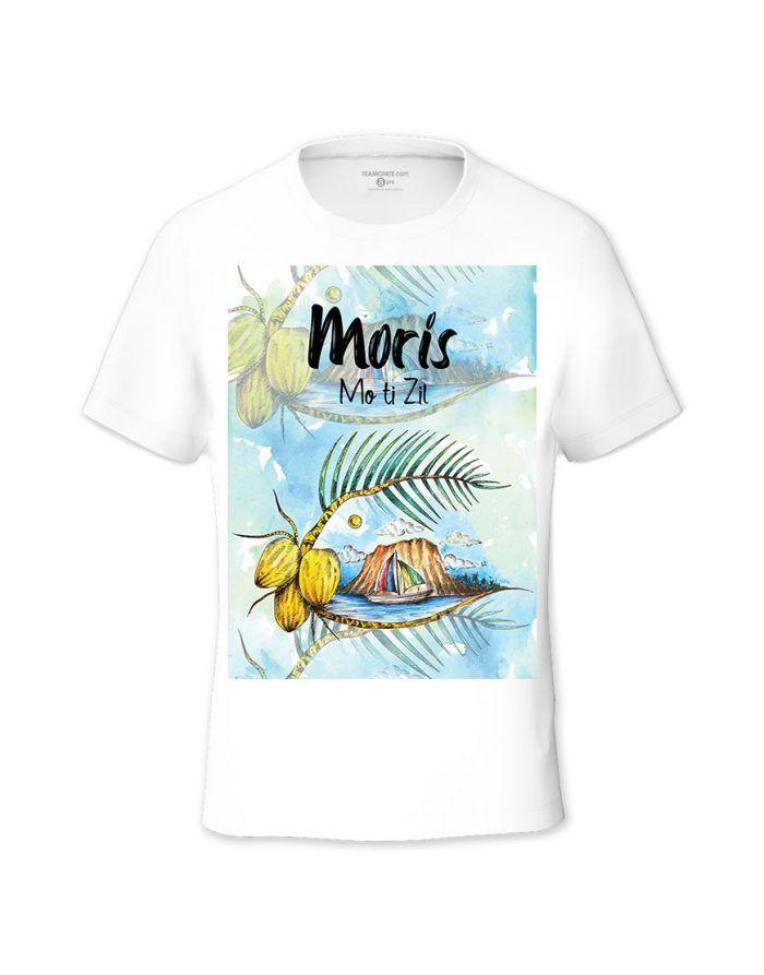 Moris Mo ti Zil Tweens T-shirt - Design by Burthen Adjmeel