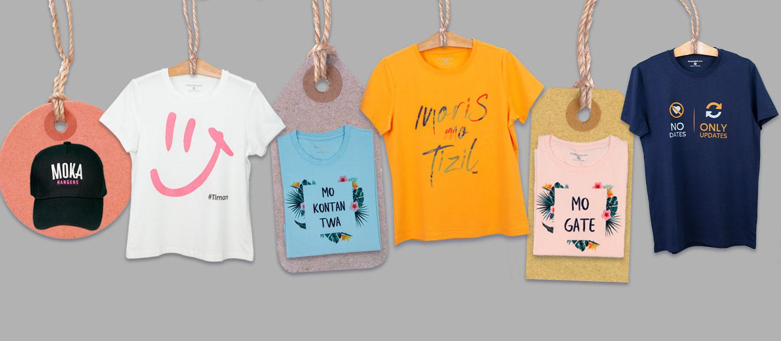branded t shirt tshop