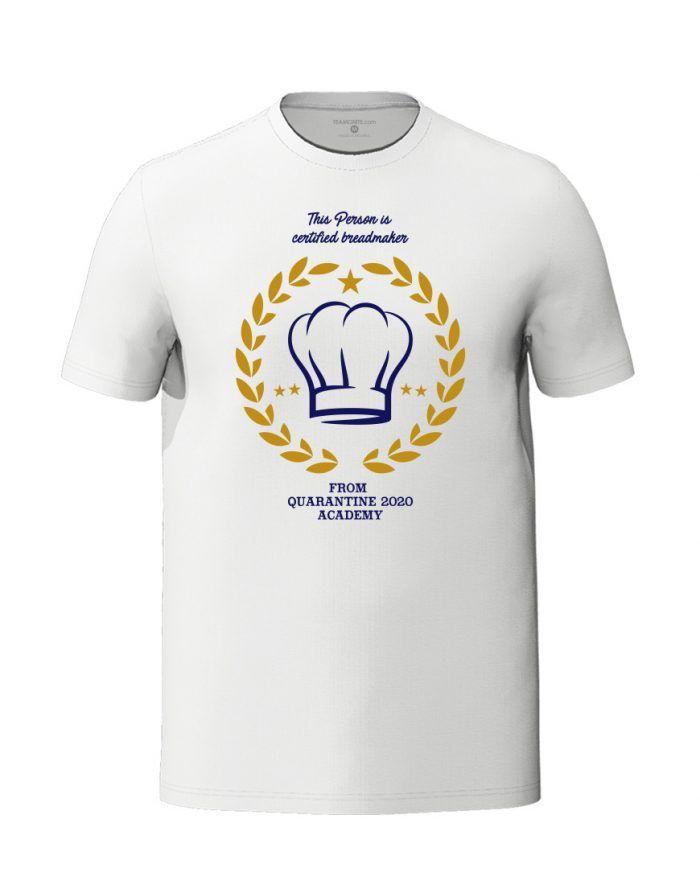Breadmaker white unisex t-shirt
