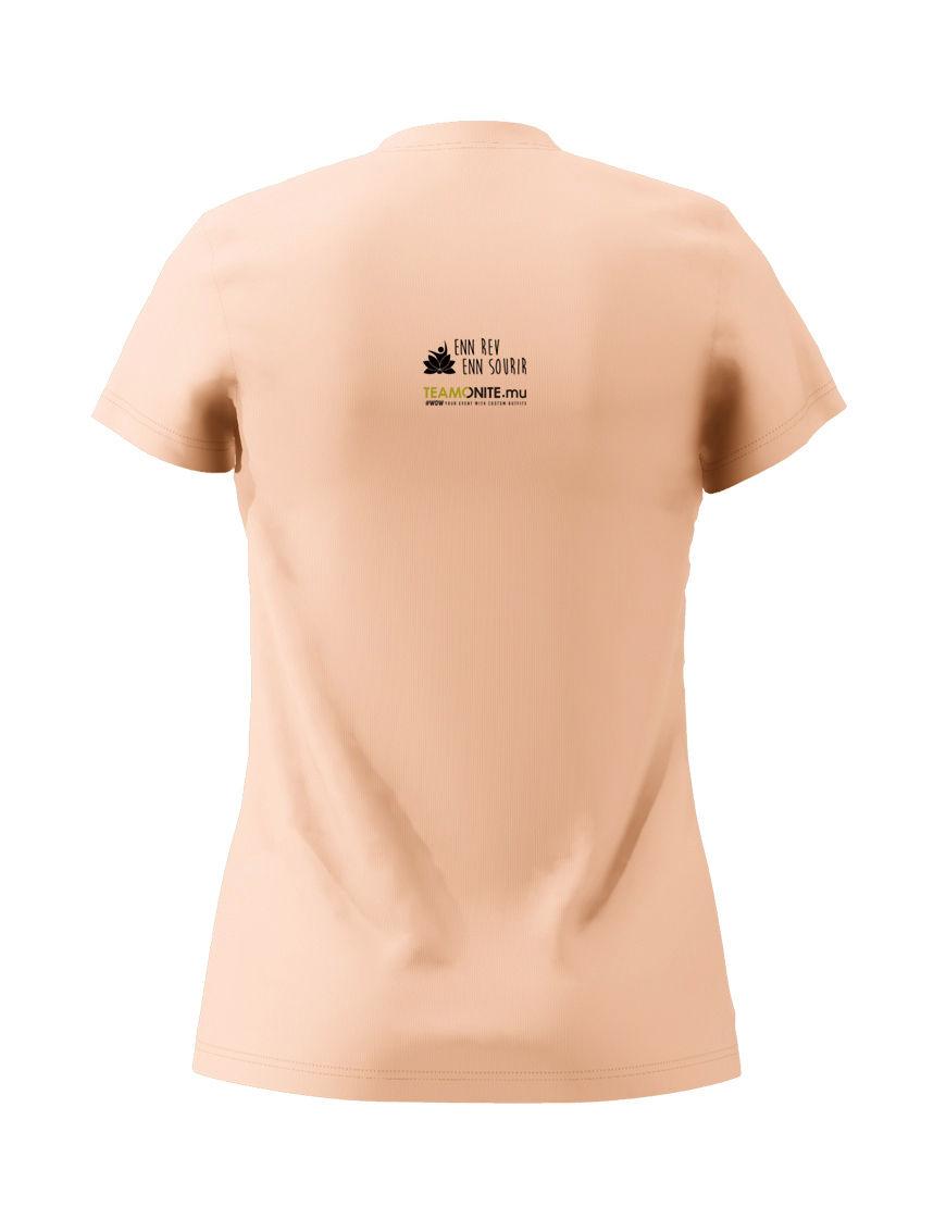 Enn Rev Enn Sourir Rose T-Shirt Black