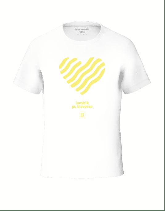 Tisert Zenfan Zon - White Kid's T-Shirt