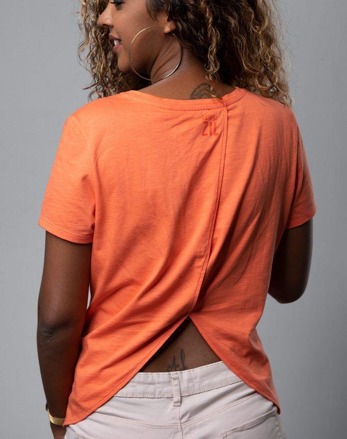 Cache Coeur Dos Lafaya ladies t-shirt back