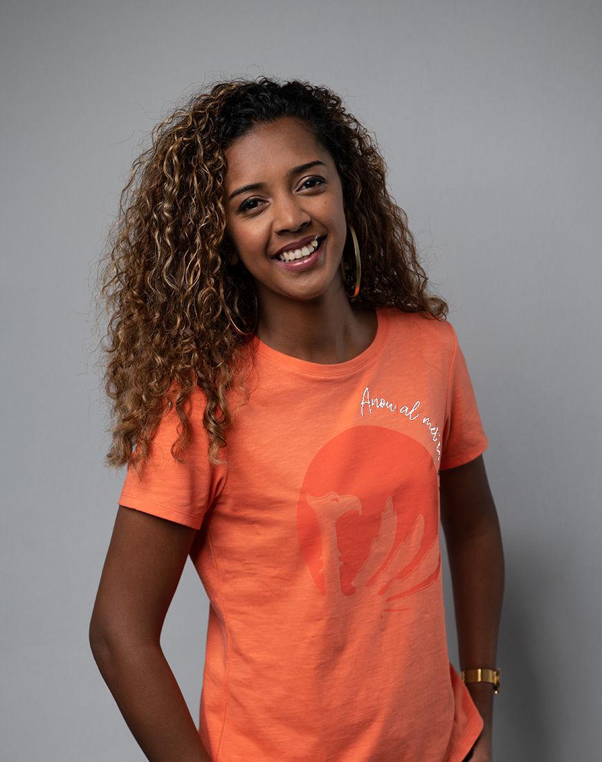 Cache Coeur Dos Lafaya women t-shirt