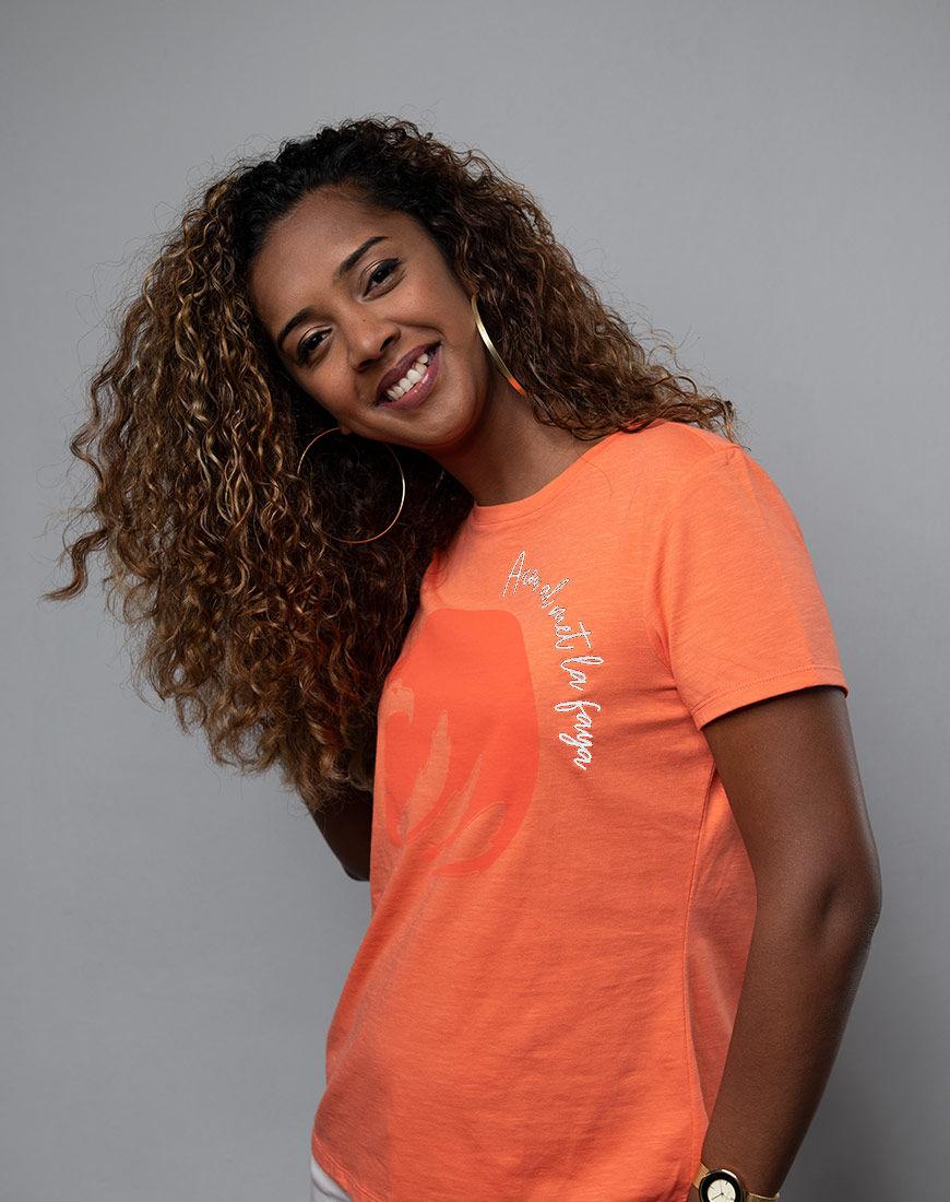 Cache Coeur Dos Lafaya ladies t-shirt