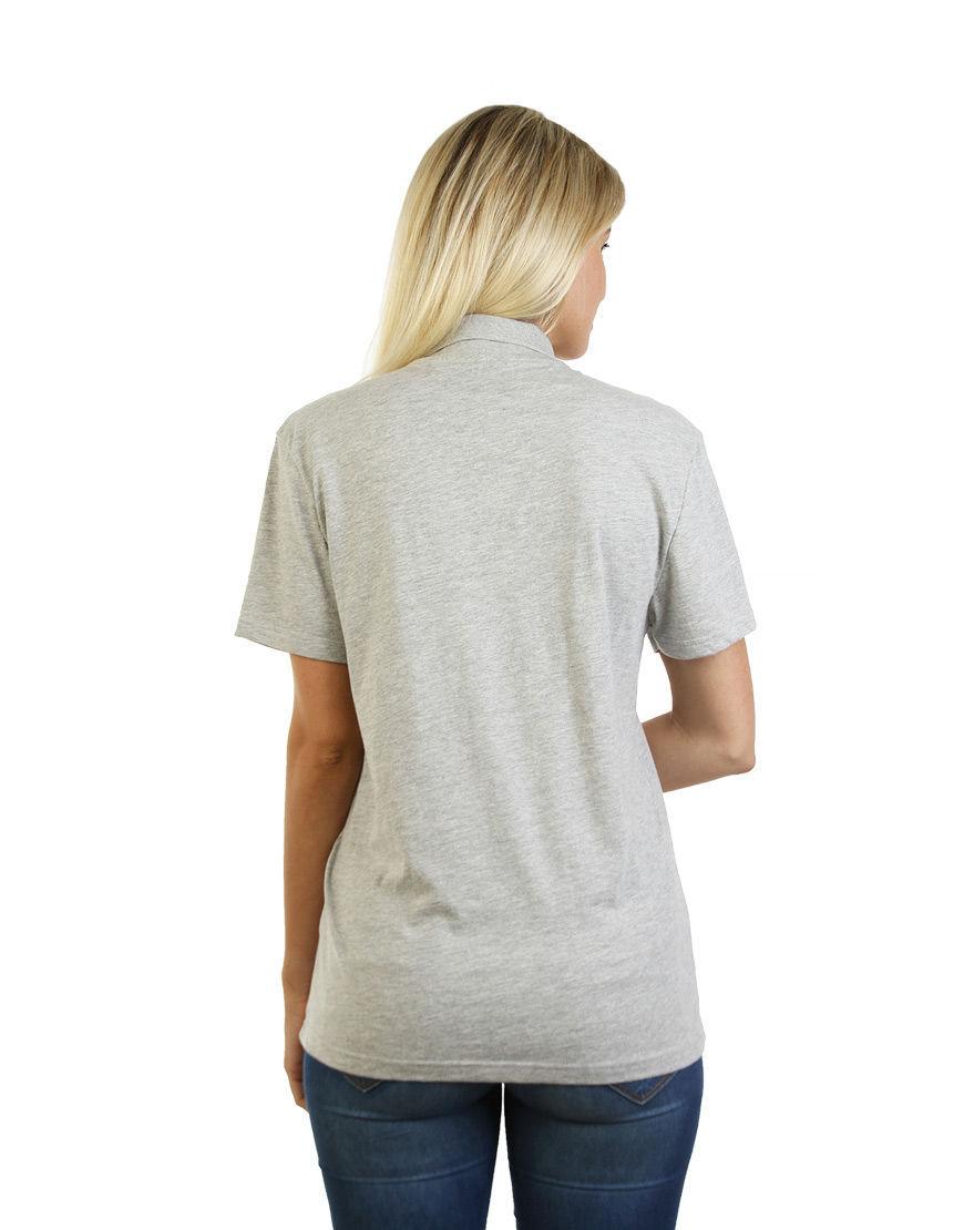 cotton unisex polo back