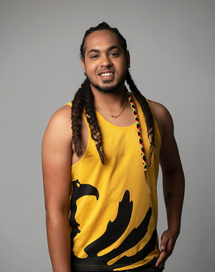 Debardeur Phoenix Mustard front