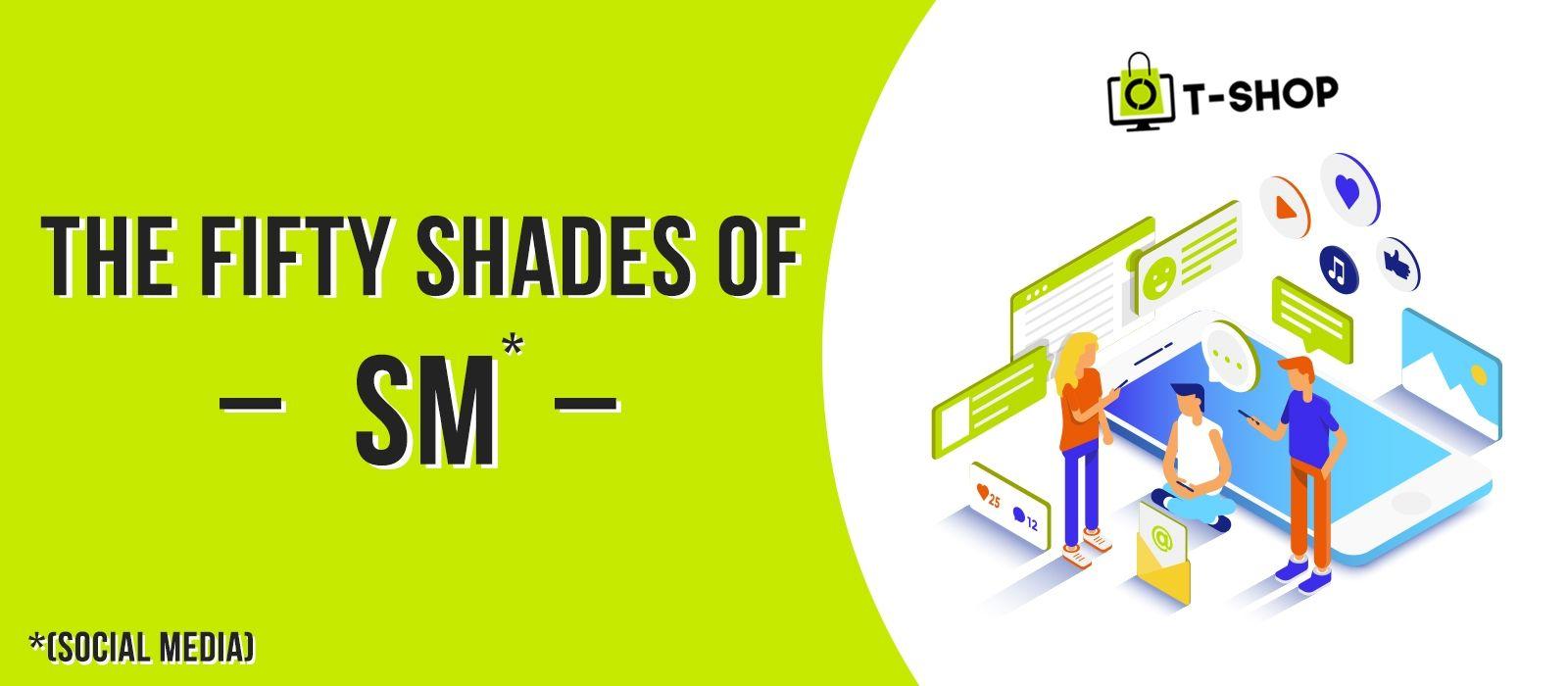 Fitfty shades of social media