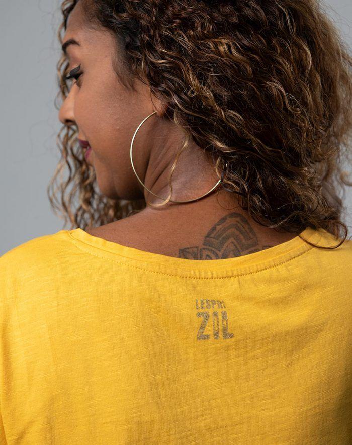 Women t-shirt Mauritius - Haut blason