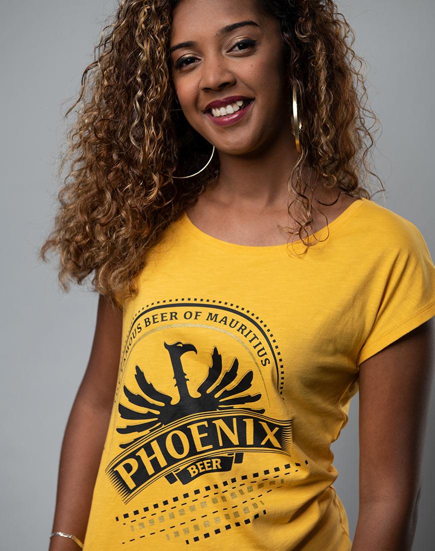 Phoenix - The famous beer of Mauritiu t-shirt