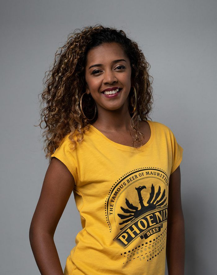 Haut Blason moutarde - Phoenix t-shirt shop