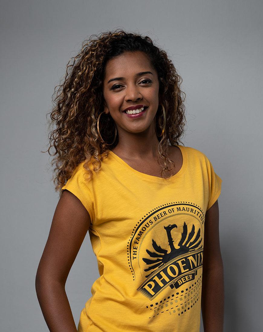 Haut Blason moutarde - Phoenix t-shirt shop