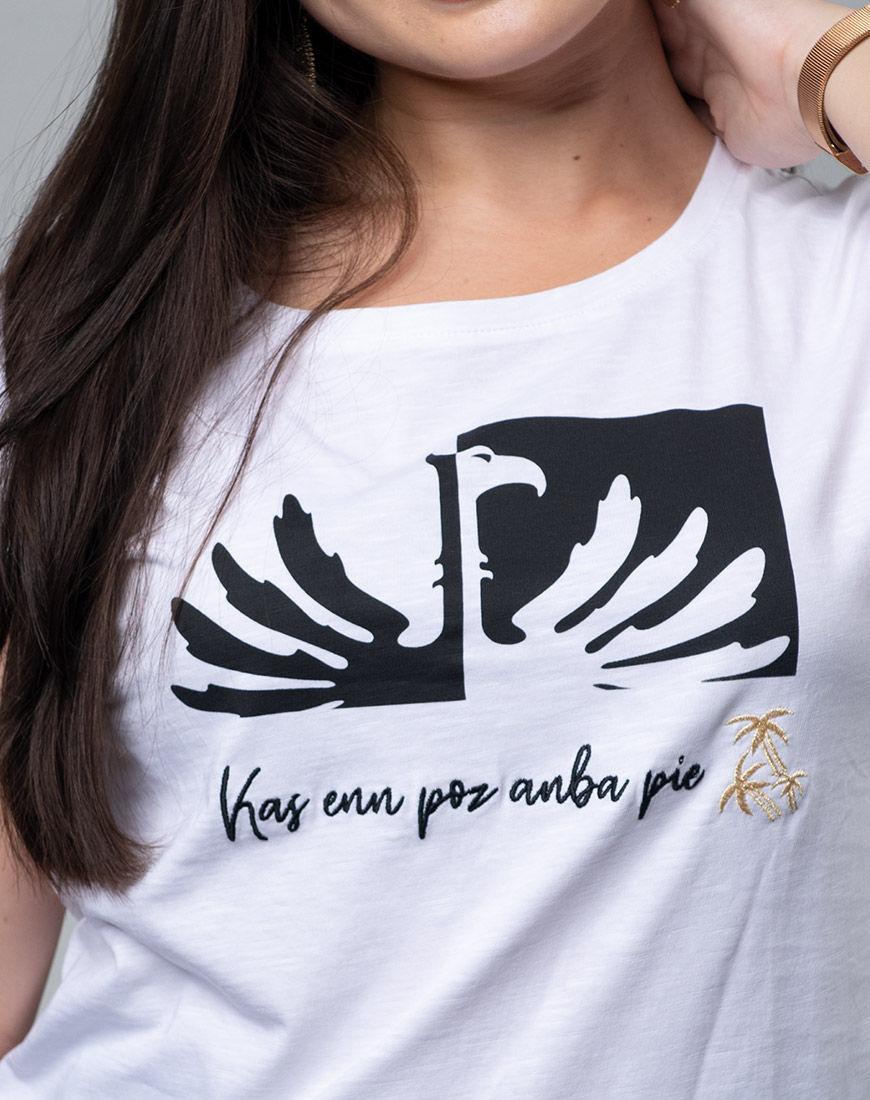 Phoenix beer logo round-neck t-shirt for women
