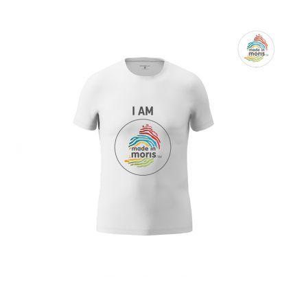 I am made in moris men's t-shirt