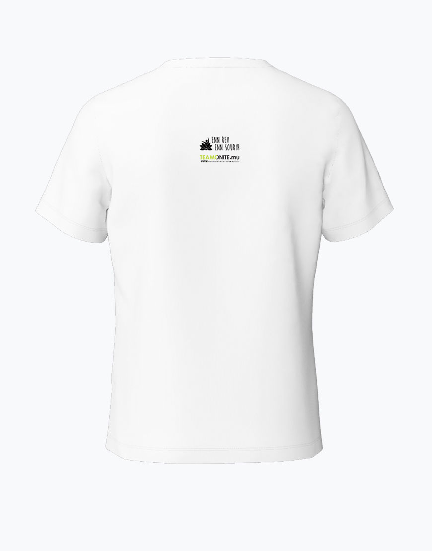 Tweens Timan White T-Shirt Back