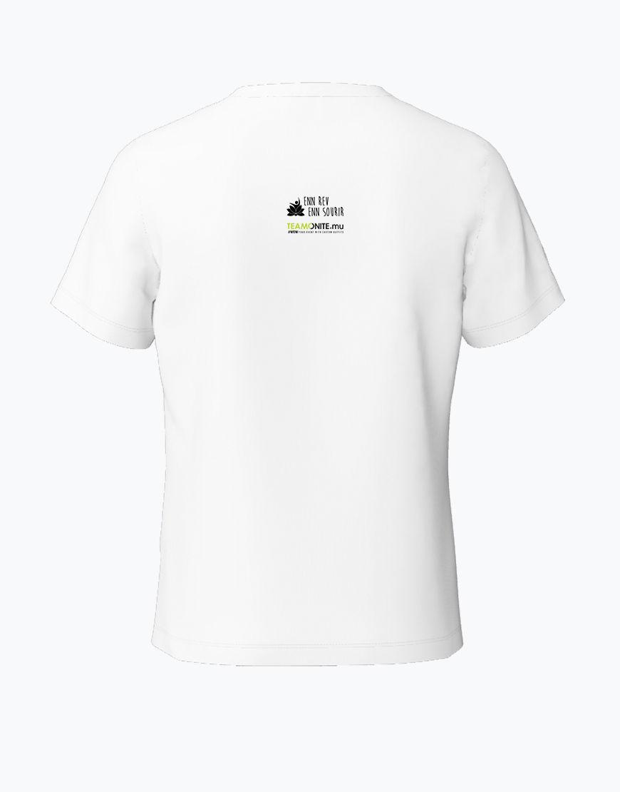 Tweens Timan White T-Shirt Back
