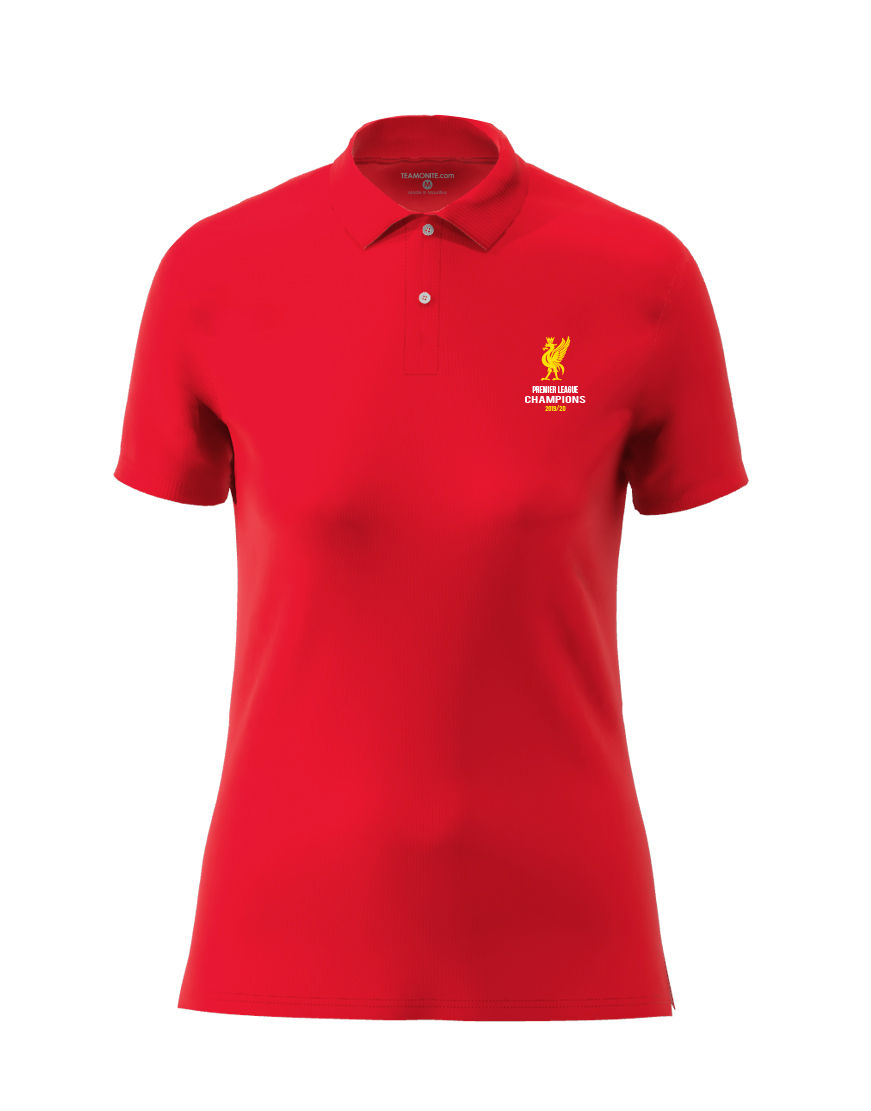 Liverpool Champion Women's polo red