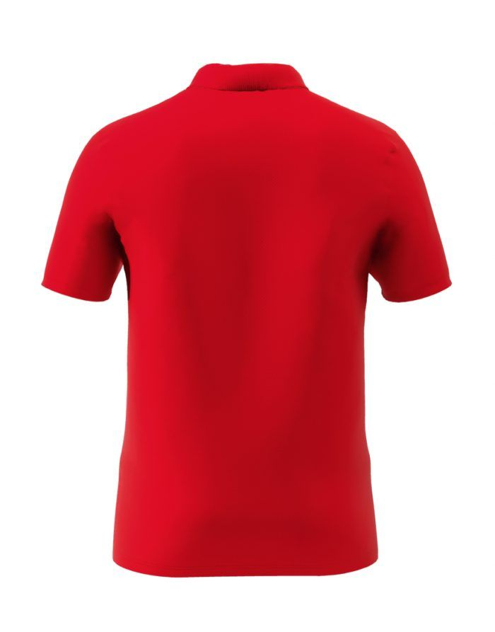 Liverpool's red men polo shirt back