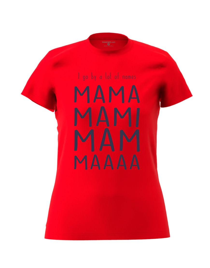 mama nicknames red