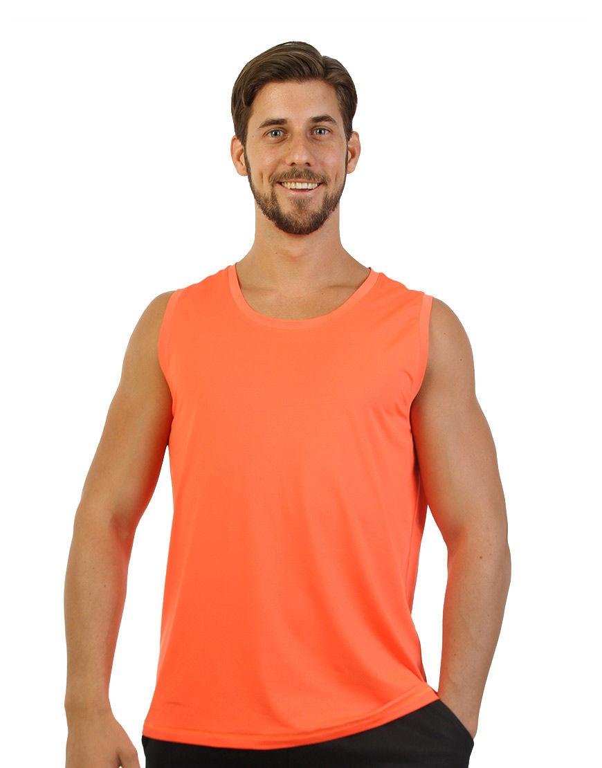 men performance sleeveless