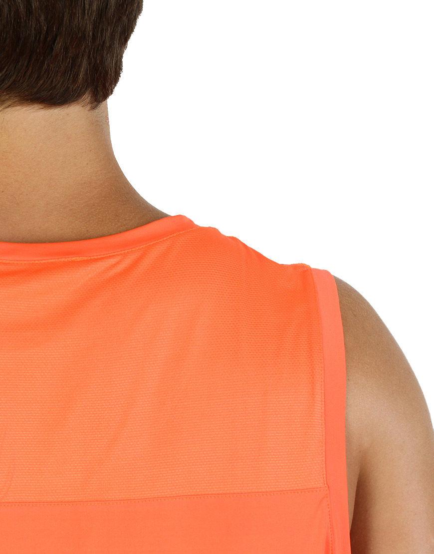 men performance sleeveless back close