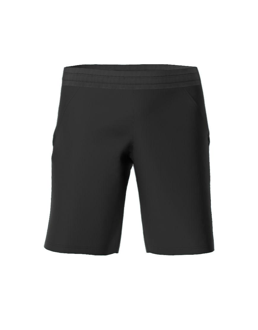 mens casual shorts 3d black