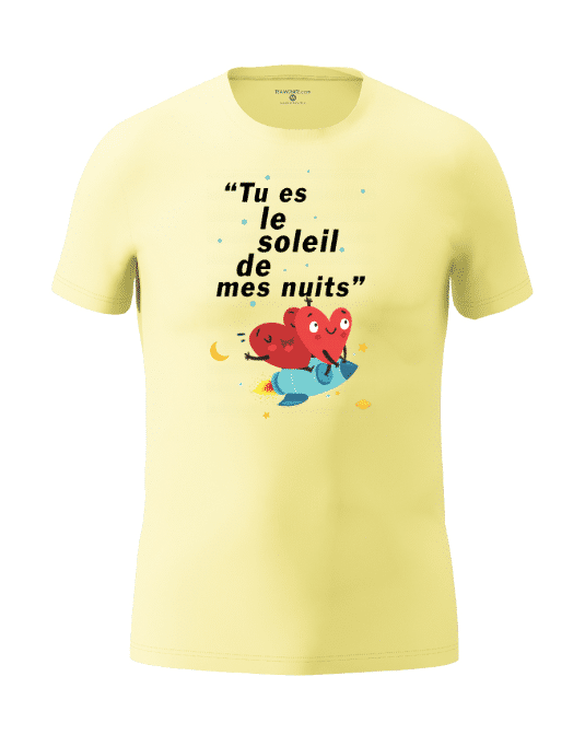Funny Men's Yellow T-shirt
