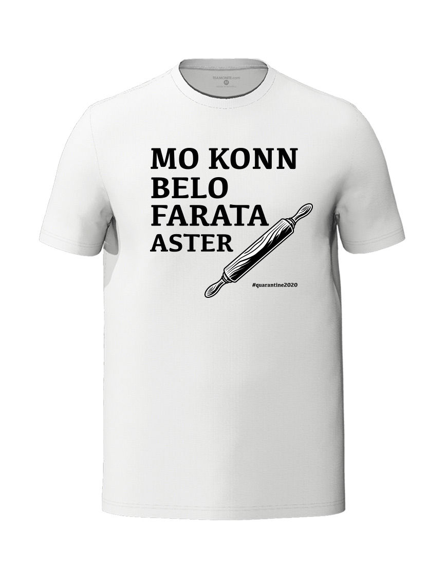 Belo farata lockdozn white t-shirt