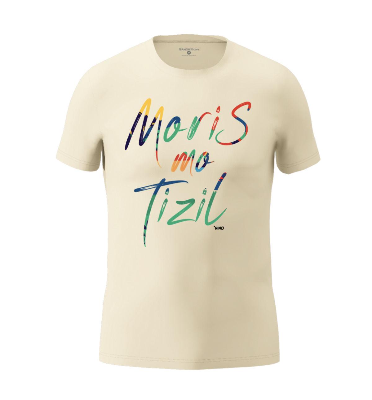 Men's Moris Mo Tizil T-shirt Beige