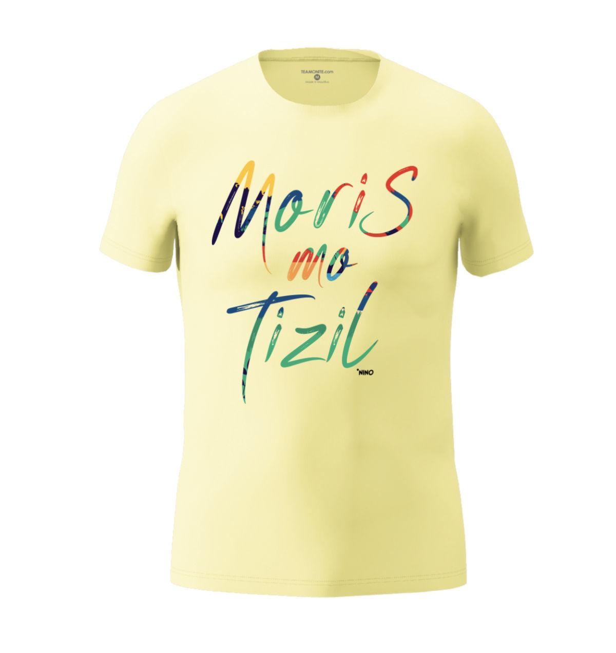 Men's Moris Mo Tizil T-shirt Light Light Yellow